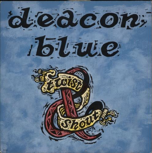"""Deacon Blue Twist & Shout 12"""" vinyl single (12 inch record / Maxi-single) UK DBL12TW108662"""