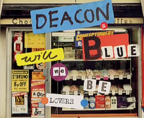 """Deacon Blue Will We Be Lovers CD single (CD5 / 5"""") UK DBLC5WI161823"""