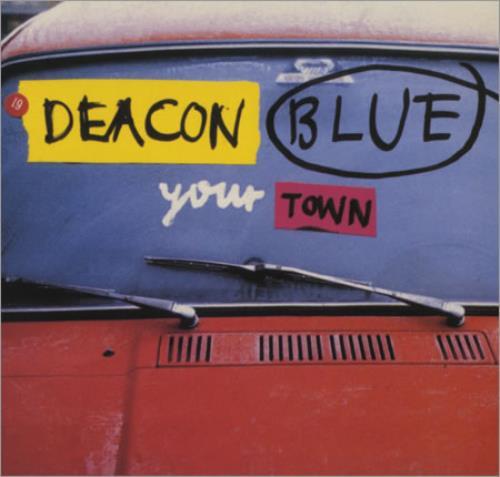 "Deacon Blue Your Town 12"" vinyl single (12 inch record / Maxi-single) UK DBL12YO109933"