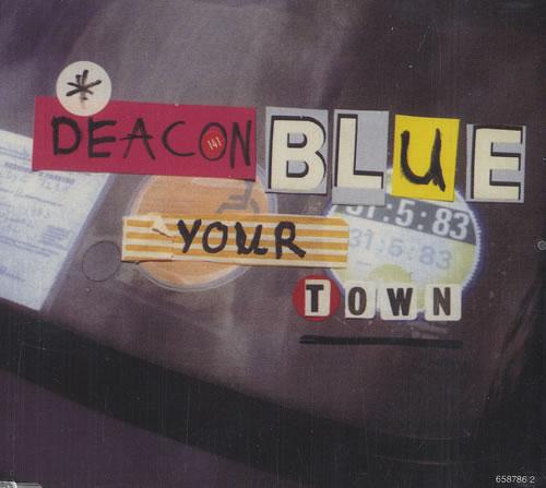 """Deacon Blue Your Town CD single (CD5 / 5"""") UK DBLC5YO487400"""