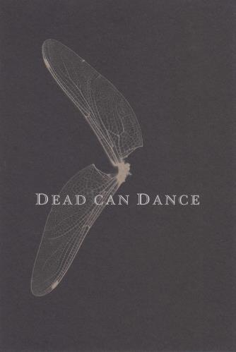 Dead Can Dance DCD 2005 - 4th October - Canada: Montreal 2 CD album set (Double CD) US DCD2CDC739762