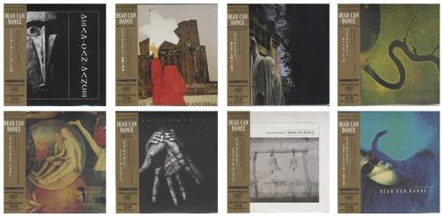 Dead Can Dance Paper Sleeve Collection - The Albums Japanese
