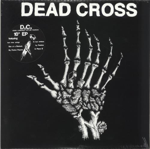 "Dead Cross Dead Cross EP - Swamp Green Vinyl - Sealed 10"" vinyl single (10"" record) US QGA10DE699003"
