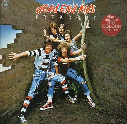 Dead End Kids Breakout + Poster vinyl LP album (LP record) UK DE5LPBR552534