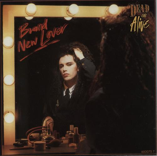 "Dead Or Alive Brand New Lover 7"" vinyl single (7 inch record) UK DOA07BR34274"