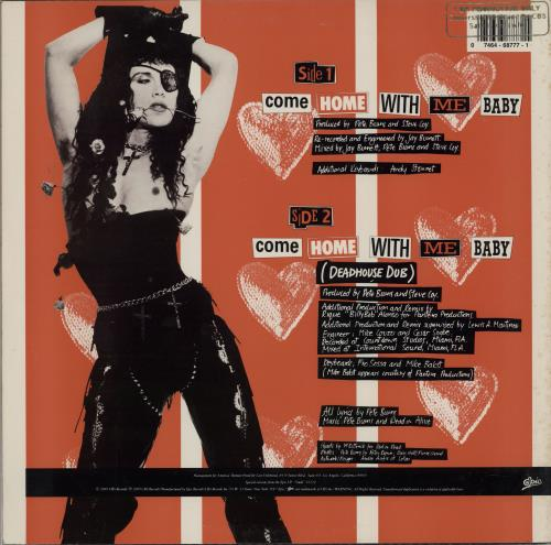 "Dead Or Alive Come Home With Me Baby - Promo Stamped 12"" vinyl single (12 inch record / Maxi-single) US DOA12CO756402"