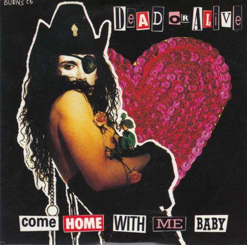"""Dead Or Alive Come Home With Me Baby CD single (CD5 / 5"""") UK DOAC5CO11347"""