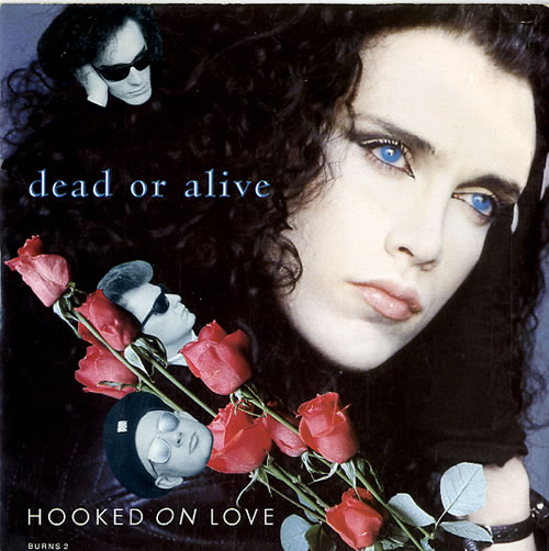 "Dead Or Alive Hooked On Love 7"" vinyl single (7 inch record) UK DOA07HO105917"