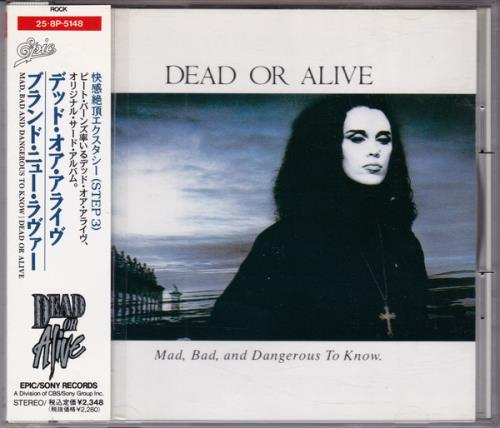 Dead Or Alive Mad Bad & Dangerous To Know CD album (CDLP) Japanese DOACDMA14190