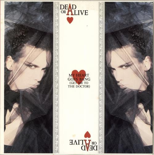 "Dead Or Alive My Heart Goes Bang 12"" vinyl single (12 inch record / Maxi-single) Japanese DOA12MY713220"