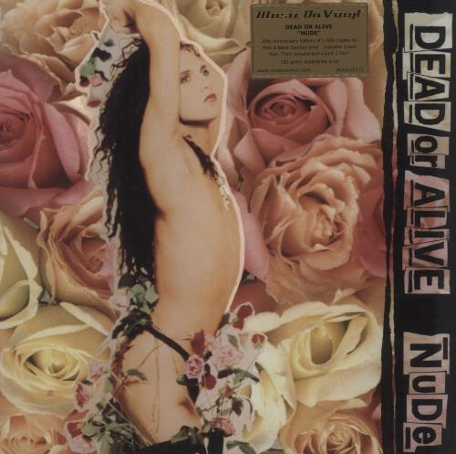 Dead Or Alive Nude - 180gm Pink & Black Swirl Vinyl + Numbered vinyl LP album (LP record) UK DOALPNU714875