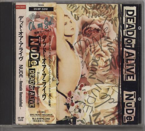 Dead Or Alive Nude - Remade Remodelled + Obi CD album (CDLP) Japanese DOACDNU347083