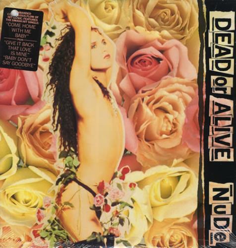 Dead Or Alive Nude - Sealed vinyl LP album (LP record) US DOALPNU08112