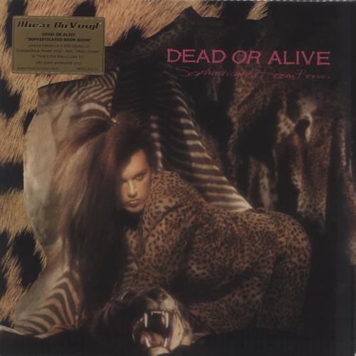 Dead Or Alive Sophisticated Boom Boom - Orange & Black Vinyl vinyl LP album (LP record) UK DOALPSO709726