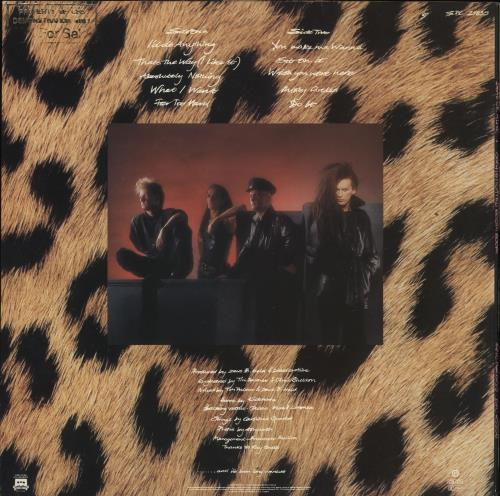 Dead Or Alive Sophisticated Boom Boom - Promo Stamped vinyl LP album (LP record) UK DOALPSO734566