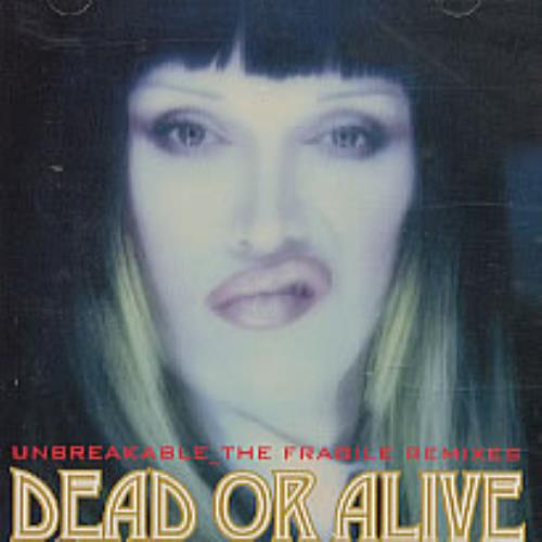 "Dead Or Alive Unbreakable - The Fragile Remixes - no obi CD single (CD5 / 5"") Japanese DOAC5UN225544"