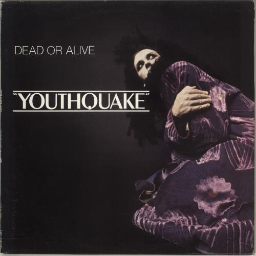 Dead Or Alive Youthquake - Promo Stamped Sleeve vinyl LP album (LP record) UK DOALPYO715389