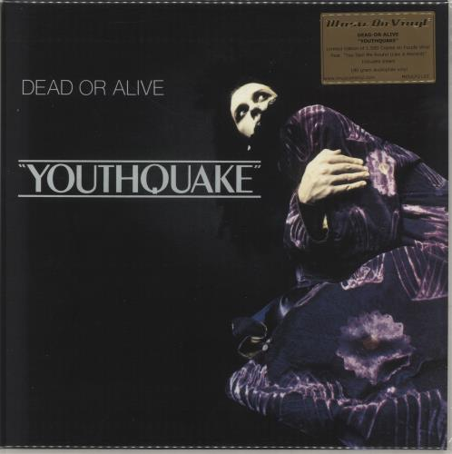 Dead Or Alive Youthquake - Purple Vinyl vinyl LP album (LP record) UK DOALPYO706171