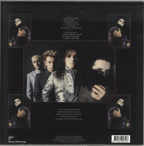 Dead Or Alive Youthquake - Purple Vinyl vinyl LP album (LP record) UK DOALPYO706171