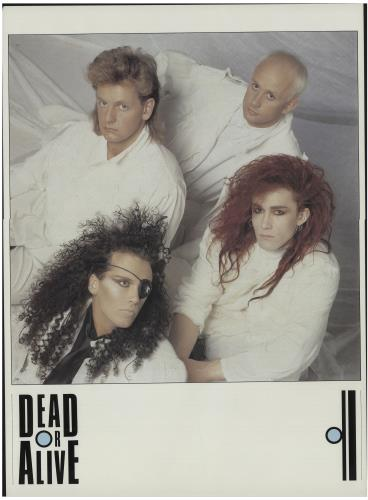 Dead Or Alive Youthquake Uk Promo Poster 679373