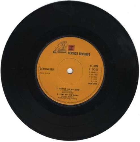 "Dean Martin Warner Giants EP 7"" vinyl single (7 inch record) UK 1DM07WA396232"