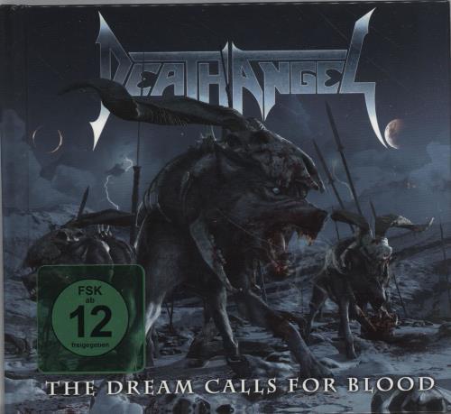 Death Angel The Dream Calls For Blood + DVD 2-disc CD/DVD set German DH92DTH701405