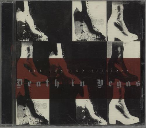 Death In Vegas The Contino Sessions CD album (CDLP) UK DEACDTH753488