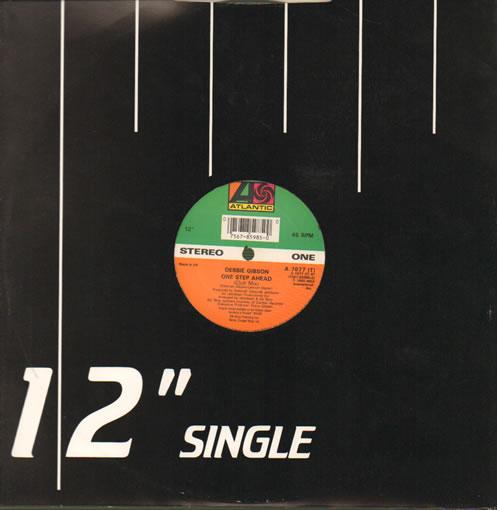 "Debbie Gibson One Step Ahead 12"" vinyl single (12 inch record / Maxi-single) UK GIB12ON640962"