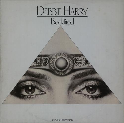 "Debbie Harry Backfired 12"" vinyl single (12 inch record / Maxi-single) French DEB12BA32238"