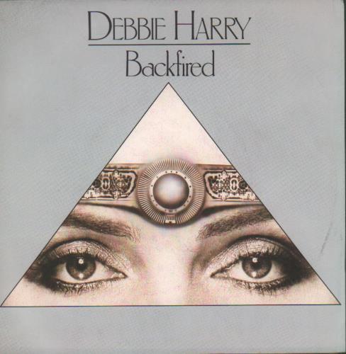 "Debbie Harry Backfired 7"" vinyl single (7 inch record) Italian DEB07BA681748"