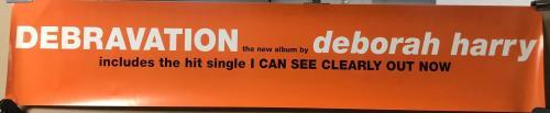 Debbie Harry Debravation poster UK DEBPODE681342