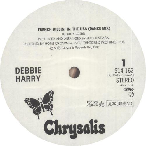 "Debbie Harry French Kissin' In The USA 12"" vinyl single (12 inch record / Maxi-single) Japanese DEB12FR746882"