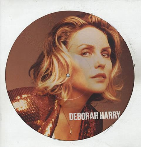 """Debbie Harry I Want That Man 12"""" vinyl picture disc 12inch picture disc record UK DEB2PIW11517"""