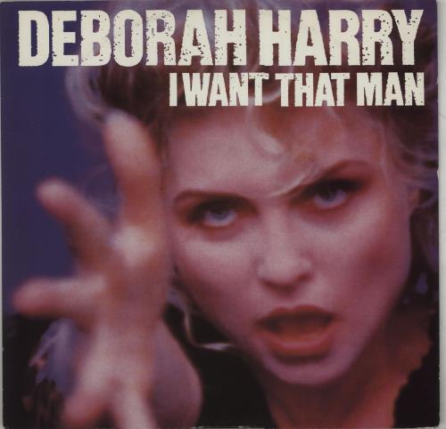 "Debbie Harry I Want That Man 12"" vinyl single (12 inch record / Maxi-single) UK DEB12IW188738"