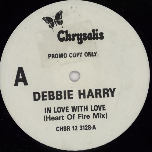 """Debbie Harry In Love With Love 12"""" vinyl single (12 inch record / Maxi-single) UK DEB12IN756257"""
