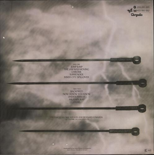 Debbie Harry KooKoo vinyl LP album (LP record) Dutch DEBLPKO748672