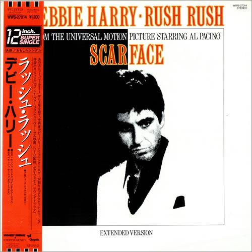 "Debbie Harry Rush Rush 12"" vinyl single (12 inch record / Maxi-single) Japanese DEB12RU40089"