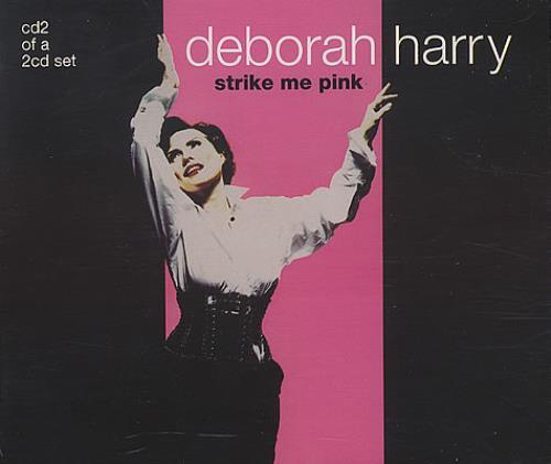 Debbie Harry Strike Me Pink 2-CD single set (Double CD single) UK DEB2SST124412