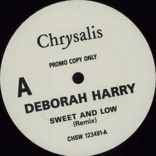 "Debbie Harry Sweet & Low 12"" vinyl single (12 inch record / Maxi-single) UK DEB12SW105035"