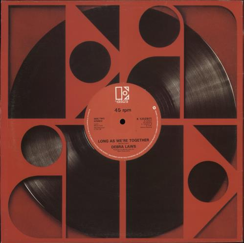 Debra Laws On My Own vinyl LP album (LP record) UK 1GWLPON771954