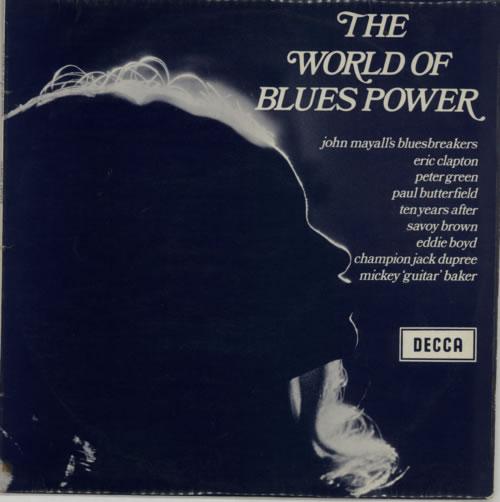 Decca The World Of Blues Power - Vol 1 vinyl LP album (LP record) UK D1KLPTH592778