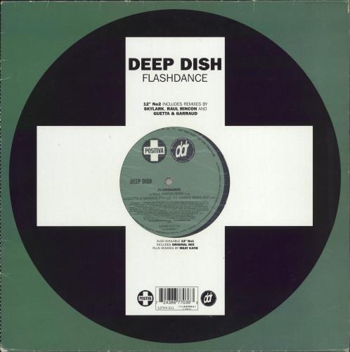 "Deep Dish Flashdance 12"" vinyl single (12 inch record / Maxi-single) UK DD112FL772384"