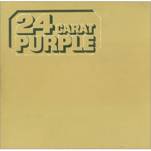 Deep Purple 24 Carat Purple vinyl LP album (LP record) UK DEELPCA56705