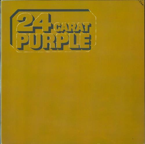 Deep Purple 24 Carat Purple vinyl LP album (LP record) UK DEELPCA719067