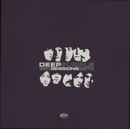 Deep Purple BBC Sessions 68/70 - Sealed box set UK DEEBXBB639399