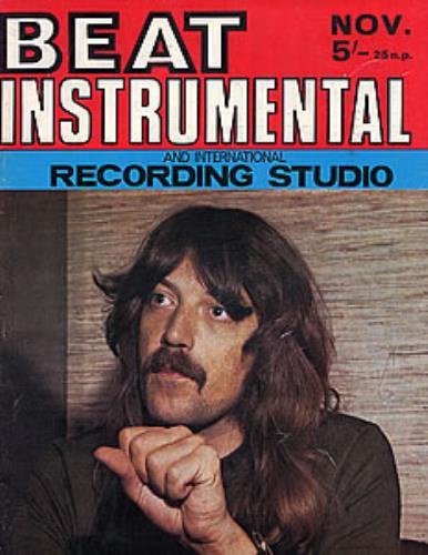Deep Purple Beat Instrumental magazine UK DEEMABE277711