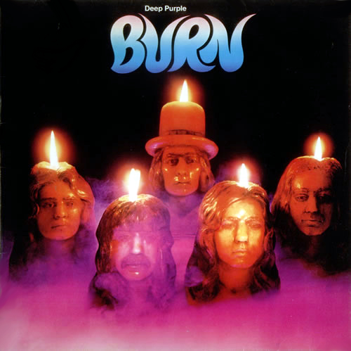 Deep Purple Burn - 1½ - EX vinyl LP album (LP record) UK DEELPBU615477