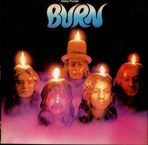 Deep Purple Burn - 2nd - EX vinyl LP album (LP record) UK DEELPBU542093