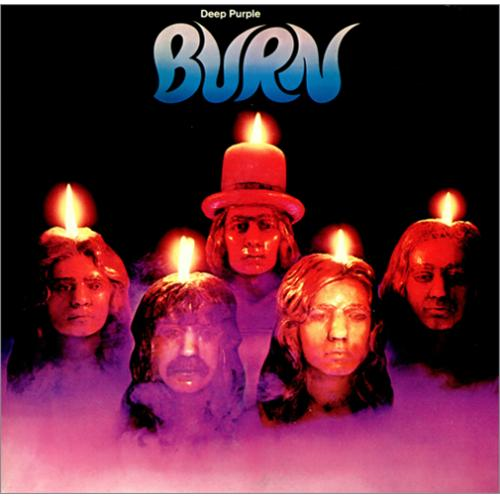 Deep Purple Burn vinyl LP album (LP record) Japanese DEELPBU418788