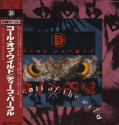 "Deep Purple Call Of The Wild 12"" vinyl single (12 inch record / Maxi-single) Japanese DEE12CA200422"